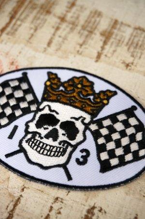 画像3: LUCKY13 PATCH SKULL FLAG(ラッキー13ワッペン)