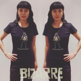 BIZARRE WOMAN BLACK S/S T-shirt