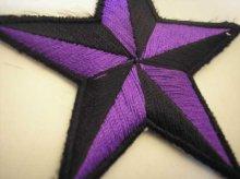 他の写真2: PATCH STAR PURPLE・トラディショナルスターワッペン・パープル