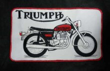 他の写真1: TRIUMPH BIG PATCH