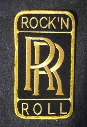 画像1: ROCK'N'ROLL ダブルR PATCH