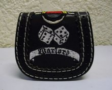 他の写真2: WARLORD EMBROIDERY Leather Coincase